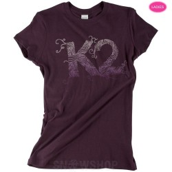 K2 IVY Plum Women's T-SHIRT