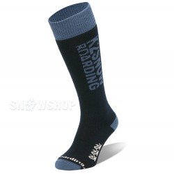 K2 ORIGINAL SNOWBOARD SOCKS Navy/Denim