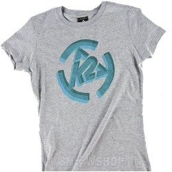 K2 STENCIL Grey Women's T-SHIRT
