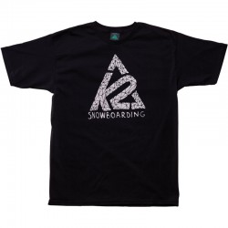 K2 T-SHIRT Big Rad TEE Black