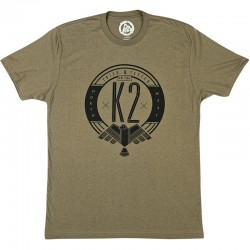 K2 T-SHIRT NW PRIDE Military Green