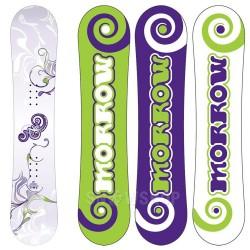 MORROW MINI WILDFLOWER KIDS SNOWBOARD