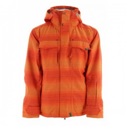 PLANET EARTH FADED FLANNEL Sunburst Orange ΜΠΟΥΦΑΝ ΑΝΔΡΙΚΟ