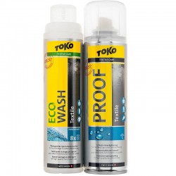 TOKO Duo-Pack Textile Proof&Eco Textile Wash SET 2x250ml