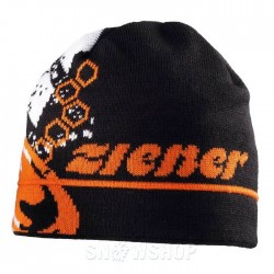 ZIENER TIDEGAR Black orange ΣΚΟΥΦΟΣ