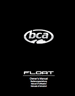 BCA OWNERS MANUAL AIRBAG ICON