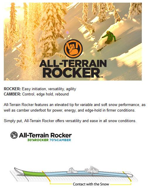 K2 ALL TERAIN ROCKER TECNOLOGY