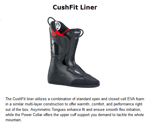 K2 CUSH FIT intuition LINER