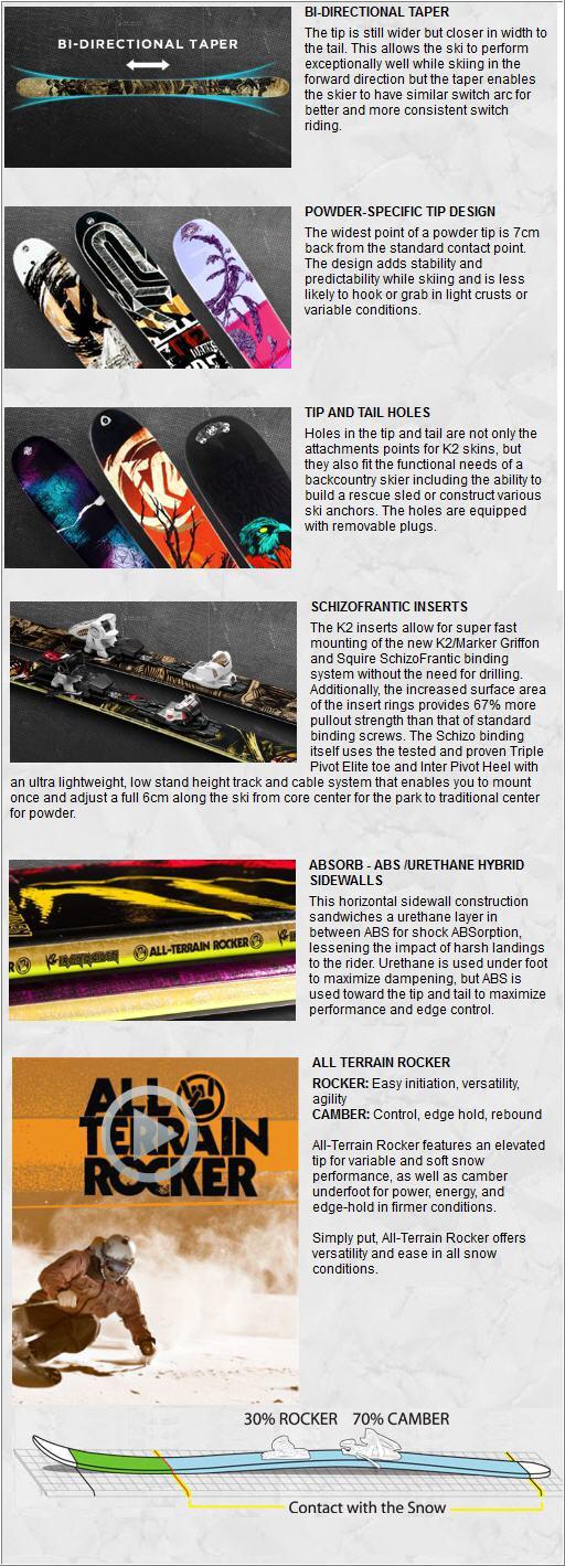K2 IRON MAIDEN 2013 TECNOLOGY