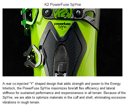 K2 PowerFuse SpYne FREERIDE