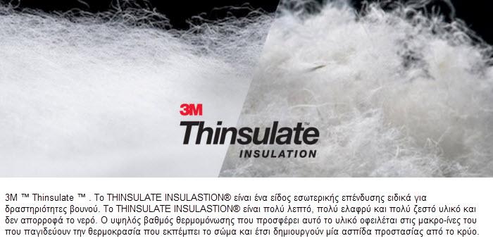 THINSULATE INSULATION 3M