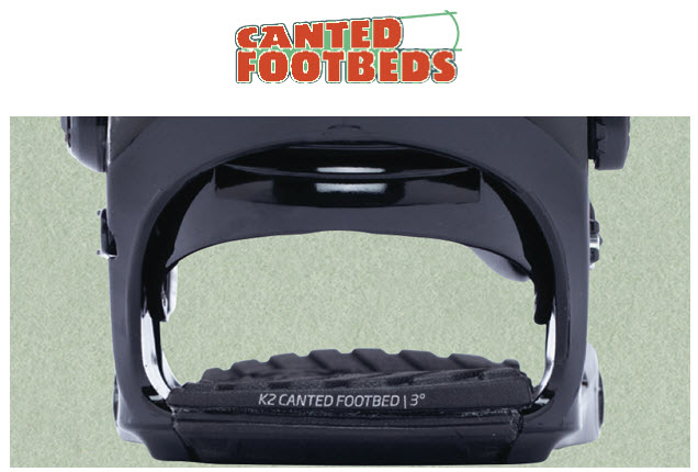 K2 CANTED FOOTBEDS TECNOLOGY