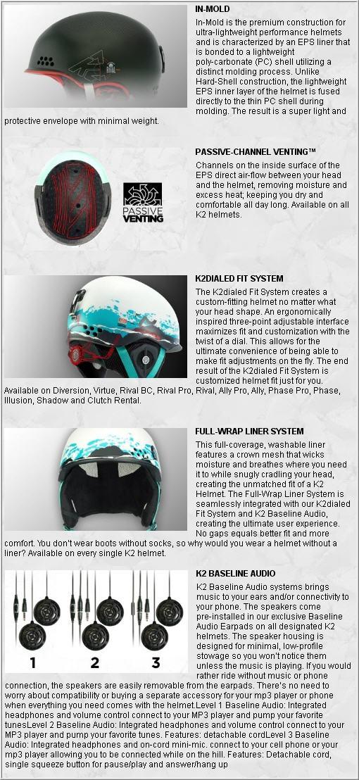 K2 RIVAL PRO 2012 TECNOLOGY
