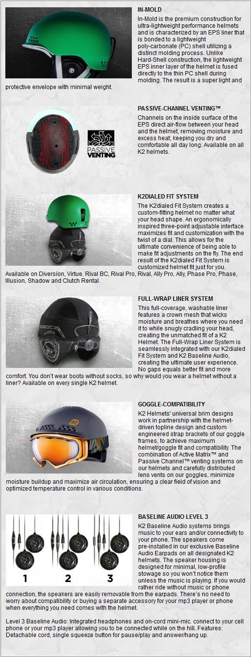 K2 RIVAL PRO 2013 TECNOLOGY