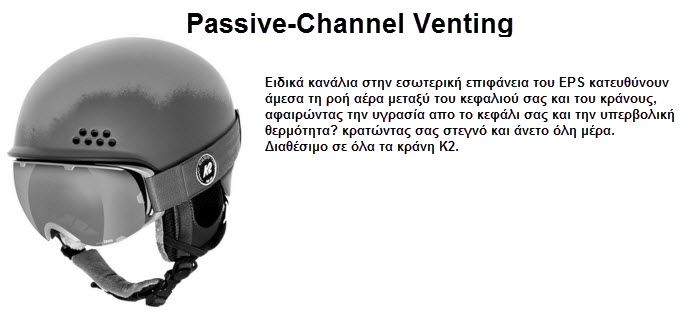 PASSIVE CHANNEL VENTING