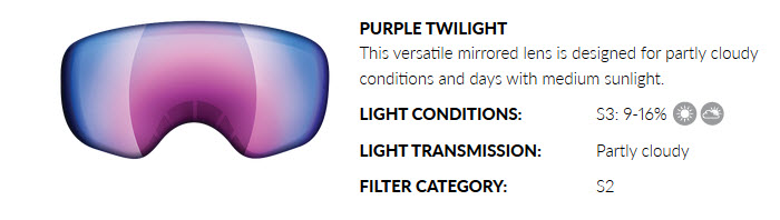 PURPLE TWILIGHT LENS