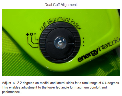 K2 Dual Cuff Alignment FREERIDE