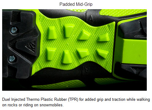 K2 Padded Mid-Grip FREERIDE