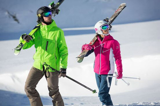 ROSSIGNOL SYNERGY JACKET GREEN ICON